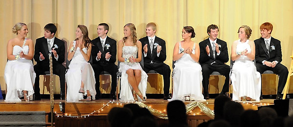 The 2012 Loyola homecoming royalty.