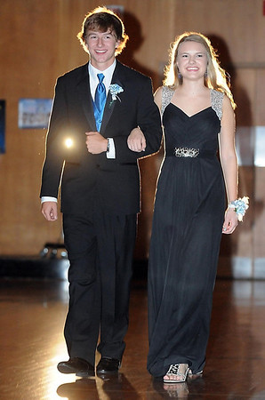 Pat Christman <br /> Elly Orcutt escorted by Carson Seifert.