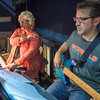 Pianist Cindy Rupp gives direction to Ron Wilson playing the bass as they played music during a rehearsal of Joseph and the Amazing Technicolor Dreamcoat. Photo by Jackson Forderer