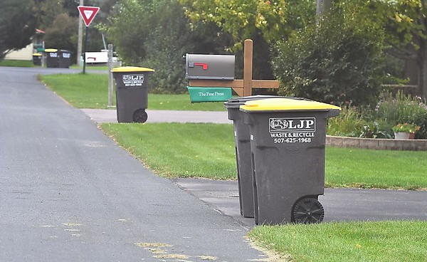 Skyline services garbage cans