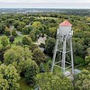 Skyline water tower aerial