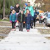 Lake Crystal walk to school 1