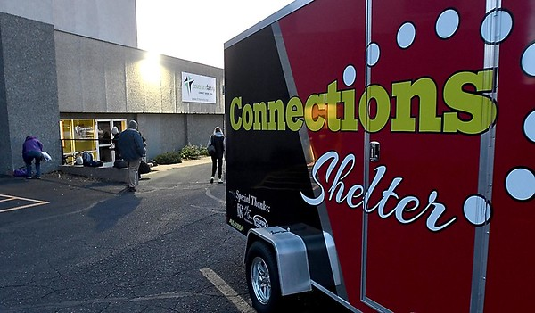 Connections Shelter opening 2