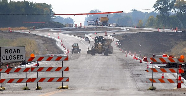 Highway 14 construction