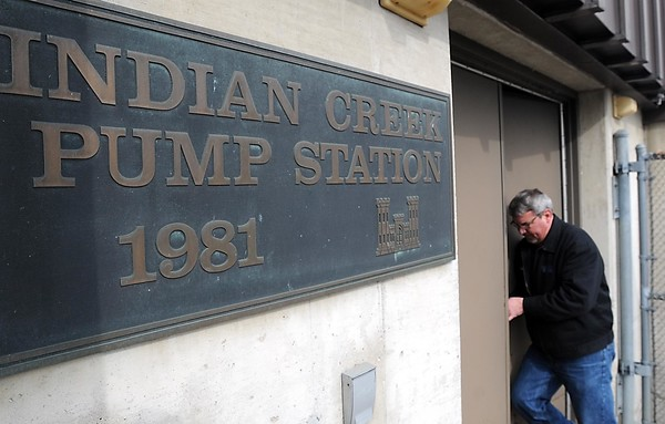 Pumps at the Indian Creek Pump Station could be updated with money from the extended sales tax. Photo by Pat Christman