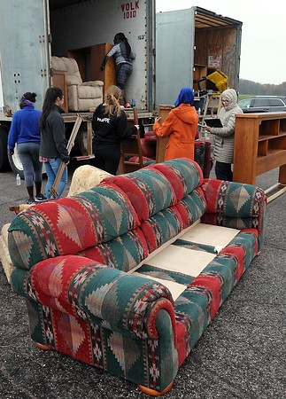 Furniture for flood victims 3
