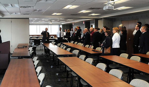 Where once stood jail cells now sits a multi-use emergency management area in the new Public Safety Center.