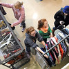 Visitors look for a costume during MSU Department of Theater and Dance's costume sale Tuesday at the Earley Center for Performing Arts.