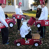 Pat Christman<br /> A group dressed as Shriners cars and drivers get ready for Saturday's Halloween Fun Run.