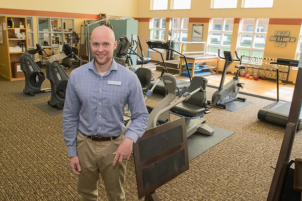 Todd Kruse, a physical therapist, recently purchased the Wenger Physical Therapy business in upper North Mankato. Photo by Jackson Forderer
