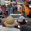 John Cross<br /> The bluegrass band Barton's Hollow performs at Riverblast in New Ulm on Saturday.