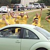 Gustavus Adolphus College move in day 1