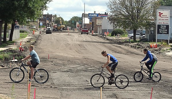 Waseca road construction
