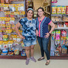 Sisters Claudia Enrrigue (left) and Goretti Enrrigue run the family-owned Jalisco Market. The market has been open for five years in downtown Gaylord.