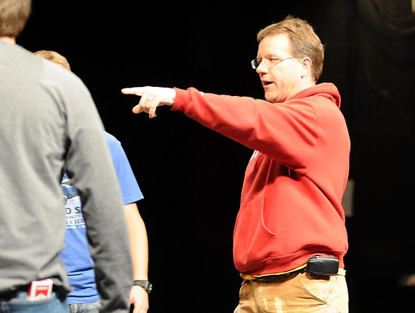 Director Peter Bloedel started Theater Physics 19 years ago.