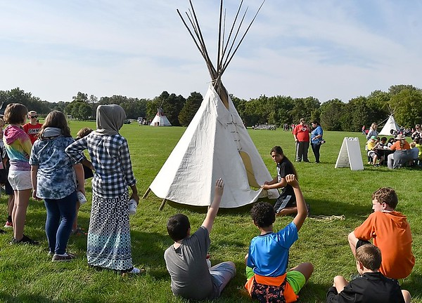 Mankato powwow education day