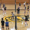 East volleyball practice