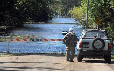 Waterville flooding 1