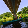 KRISTOPHER RADDER — BRATTLEBORO REFORMER<br /> People rent kayaks from Vermont Canoe Touring Center as they enjoy the West River on Friday, July 26, 2019.