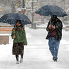 "Pedestrians walk down the Pearl Street Mall on Thursday afternoon.<br /> For more photos and a video of the storm, go to  <a href=""http://www.dailycamera.com"">http://www.dailycamera.com</a>.<br /> Cliff Grassmick / December 30, 2010"