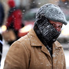 "Ronnell Roegner of Hot Springs, Arkansas, is dressed for the weather as he crosses Broadway on Thursday.<br /> For more photos and a video of the storm, go to  <a href=""http://www.dailycamera.com"">http://www.dailycamera.com</a>.<br /> Cliff Grassmick / December 30, 2010"