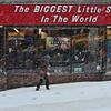 KRISTOPHER RADDER - BRATTLEBORO REFORMER<br /> Grace Nolan passes store fronts on Main Street in Brattleboro, Vt., during Winter Storm Stella on Tuesday, March 14, 2017.