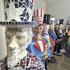 The Downtown Troy Business Improvement District (BID),  worked with 25 artists and 5 school groups on the design of the 30 fiberglass statues you will see installed throughout the Downtown Troy streetscape and unveiled Friday April April 26th on Troy Night Out.  (Mike McMahon / The Record)