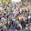 Large crowd looks on during Rockin' on the River Wednesday July 31, 2013 in Troy. (J.S.Carras/The Record)