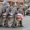 Mike McMahon - The Record,  Funeral services for Trooper David Cunniff at the Grace Fellowship church in Latham,  December 18, 2013.