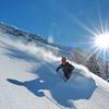 Peut-être la plus belle journée de l'hiver, poudre et soleil...