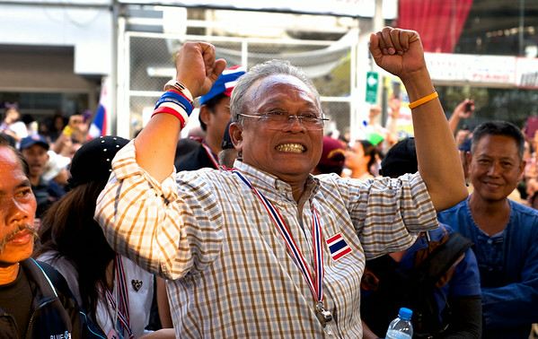 People's Democratic Reform Committee leader Suthep Thaugsuban in Bangkok, Thailand