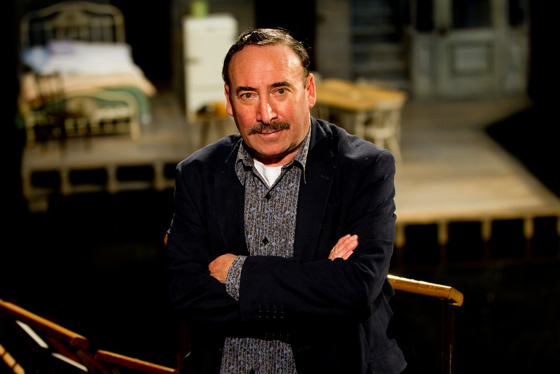 THE TIMES<br /> <br /> Antony Sher pictured at the RSC where he is starring in Death of a Salesman, Stratford, April 30 2015