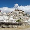 Le monastère de Shey surplombe la vallée de l'Indus (Leh - Ladahk)