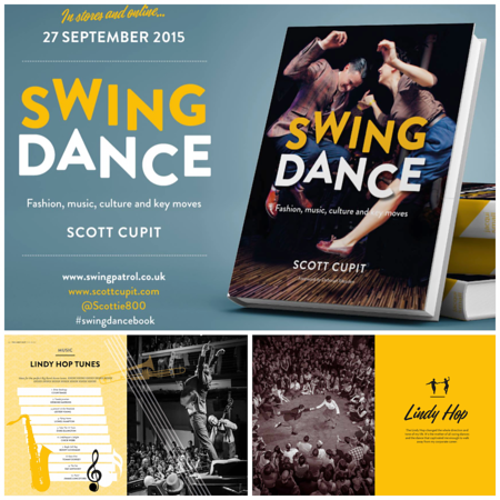 "2015-03 Contributions in the book ""SWING DANCE"" by Scott Cupit"