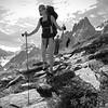 Aux pieds des aiguilles de Chamonix, des emplacements de bivouac idylliques