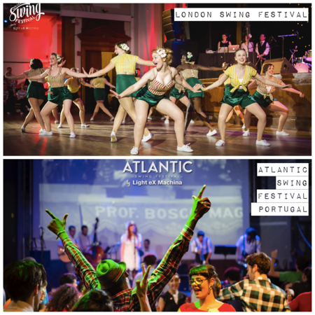 2015-05 and 2015-06 Official photographer at London Swing Festival and Atlantic Swing Festival