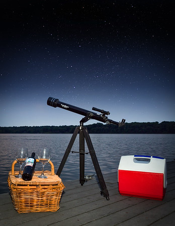 Picnic Dock with Stars 2-3