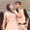 Dripping Springs Winterguard performs at Pageantry in the Springs