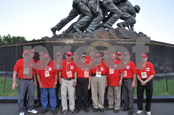 -Messenger photo by Joe Sutter<br /> <br /> Veterans from Osceola County