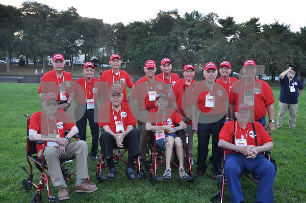 -Messenger photo by Joe Sutter<br /> <br /> Veterans from Webster County