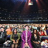 Justin receives a warm welcome at the Rogers Centre during the Ilaiyaraaja concert. Justin reçoit un accueil chaleureux au Centre Rogers pendant le concert de Ilaiyaraaja. Feb 16, 2013. (Photo: Adam Scotti)