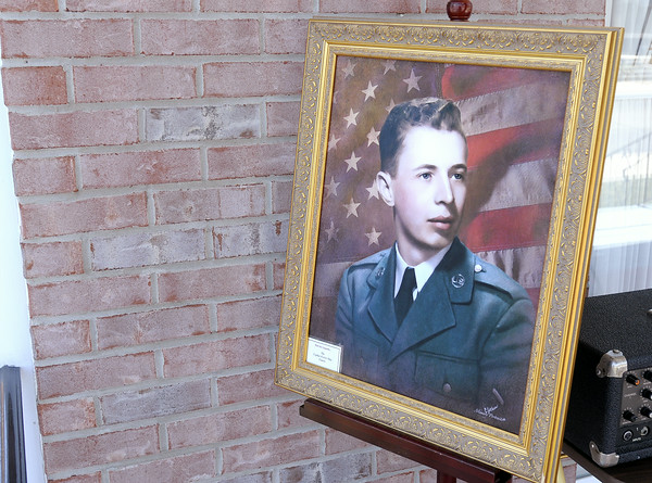 Don Knight | The Herald Bulletin<br /> Airman Howard Martin returned to Elwood on Thursday. He was killed when the C-124 Globemaster he was aboard crashed into Mt. Gannett killing all 52 aboard.