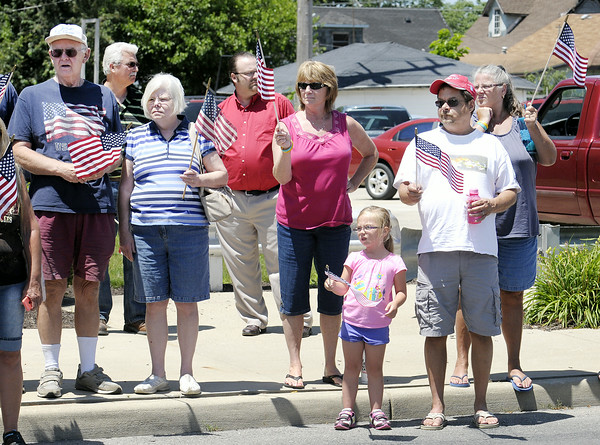 Don Knight   The Herald Bulletin<br /> Airman Howard Martin returned to Elwood on Thursday. He was killed when the C-124 Globemaster he was aboard crashed into Mt. Gannett killing all 52 aboard.