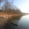 Tribune-Star file/ Jim Avelis<br /> At rest. The Wabsh River seen from the Fairbanks Park boat launch in Terre Haute.
