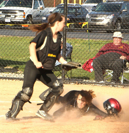 Photo by Chris Martin<br /> Alexandria's Makayla Alberts scores against Madison Grant Wednesday evening