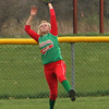 Photo by Chris Martin<br /> Anderson's Avery Raper makes a catch in Center Field against the Arabians on Monday