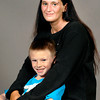 John P. Cleary | The Herald Bulletin<br /> Bonnie Trahan and her son Dallas McAllister, 8.