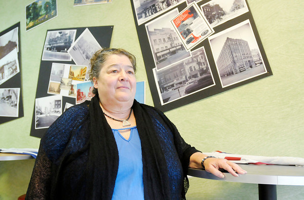 Don Knight | The Herald Bulletin<br /> Claudette Bettencourt owns Your Way Cafe and Conscious Creations downtown and would like to see better representation for downtown merchants even if she has to create her own association.