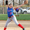 Chris Martin | For The Herald Bulletin<br /> Elwood's Mackenzie Bryan pitches against Anderson Thursday during the County Tournament. To view or buy this photo and other Herald Bulletin photos, visit heraldbulletin.smugmug.com.