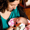 John P. Cleary | The Herald Bulletin<br /> Rebecca Sperry and her baby Autumn Marie at the home at her parents where she is staying.